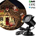 Projector Lights 12 Pattern LED Garden Spotlights Waterproof Lamp Lighting Landscape Projection Light for Decoration Lighting on Christmas Birthday Party Halloween Holiday