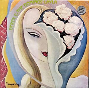 "Eric Clapton "" Derek & The Dominos - LAYLA "" REMASTERED 2 Record Album LP Set Pressed On 100% Heavy Virgin HIGH QUALITY Vinyl {Import (Made In The U.K.) Collectors Edition}"