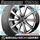 2016年製 【12インチ】 スタッドレス 145R12 6PR ブリヂストン W300 ユーロスピード G10 タイヤホイール4本セット 国産車