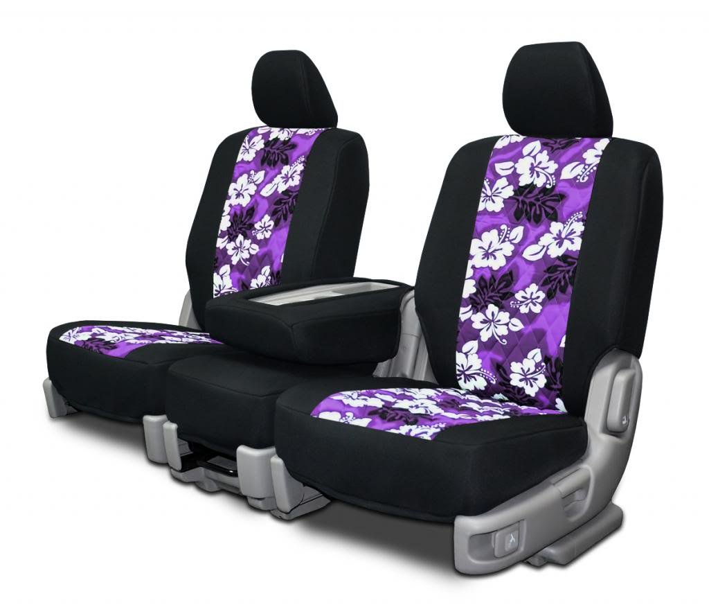 Custom Seat Covers for Lexus ES 350 - Neo-Hawaiian