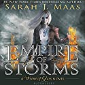 Empire of Storms Audiobook by Sarah J. Maas Narrated by Elizabeth Evans