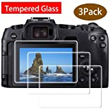 EOS RP Glass Screen Protector for Canon EOS RP Mirrorless Digital Camera, ULBTER 9H Tempered Glass Screen Protector Edge to Edge Protection,Anti-Scrach Anti-Fingerprint Anti-Dust Anti-Bubble [3 Pack] (Color: EOS RP)