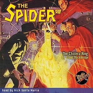 Spider #31 April 1936 Hörbuch von Grant Stockbridge,  RadioArchives.com Gesprochen von: Nick Santa Maria