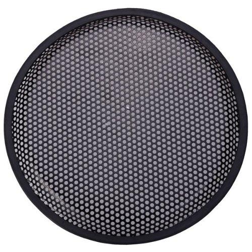 """Best Plus 10"""" Car Audio Speaker Iron Mesh Cover - Black front-424564"""