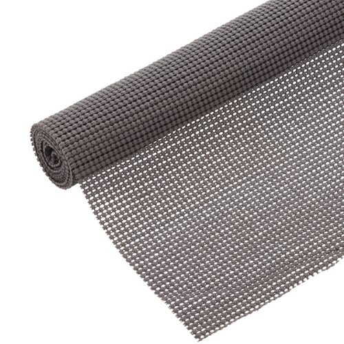 Con-Tact Brand Beaded Grip Non-Adhesive Shelf Liner, 18-Inch By 5-Feet, Graphite