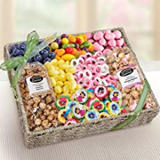 Summer Snackers Sweets and Nuts Gift Basket