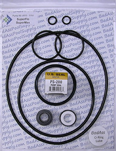 Pentair SuperFlo & SuperMax Go Kit, Complete Pump O-Ring Rebuild Kit (Pool Pump O Ring compare prices)