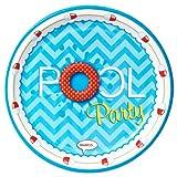 Summer Beach Ball Pool Party Supplies - Dinner Plates (8)