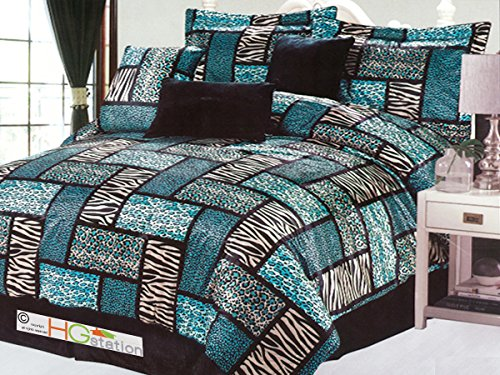 Leopard Comforter Queen
