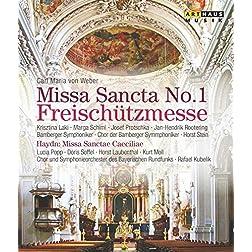 Carl Maria von Weber: Missa Sancta No. 1 in E flat; Joseph Haydn: Missa Sanctae Caeciliae [Blu-ray]