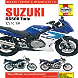 Matthew Coombs Suzuki GS500 Twin Service and Repair Manual: 1989 to 2008 (Haynes Motorcycle Manuals)