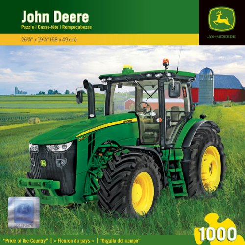 Masterpieces Puzzle Company John Deere Pride Of The Country Jigsaw Puzzle (1000-Piece) front-560063