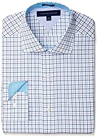 Tommy Hilfiger Men's Regular Fit Tattersall