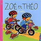 Zoé et Théo à vélo