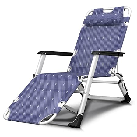 HWF Tumbonas Silla plegable Oficina Simple Siesta Siesta Nap cama de camping portátil