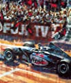 Mika Hakkinen World Champion Formula One Racing Print Autographed By Ron Dennis