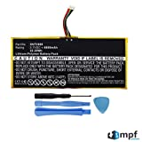 MPF Products 6000mAh AVPB002-A110-01, GB-S02-308594-0100 Battery Replacement Compatible with Barnes & Noble Nook HD+ Plus 9