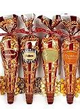 Popcornopolis Gluten Free 12 Cone Snack Pack 20 Oz