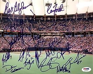 2005 Minnesota Twins Autographed Hand Signed 8x10 Photo Joe Mauer, Bert Blyleven, Joe... by Hall of Fame Memorabilia