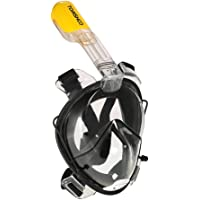 TOMSHOO 180 View Panoramic Full Face Snorkel Mask