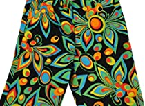 Loudmouth Golf Shorts Shagadelic Black 38 Loud Mouth John Daly