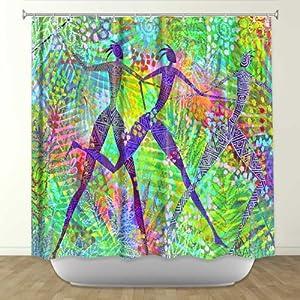 Shower Curtain Artistic Designer From Dianoche Designs By Jennifer Baird Unique