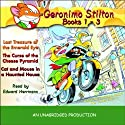 Geronimo Stilton: Books 1-3 (       UNABRIDGED) by Geronimo Stilton Narrated by Edward Herrmann
