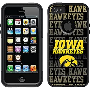 Coveroo Commuter Series Cell Phone Case for iPhone 5/5S - Iowa Repeating