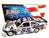 *AUTOGRAPHED* 2012 Mark Martin #55 Aaron's Dream Machine NASCAR UNITES (Patriotic) 1/24 Lionel NASCAR Diecast