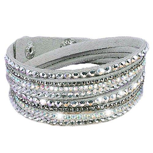 bracelet-wrap-strass-brillant-slake-en-cuir-gris