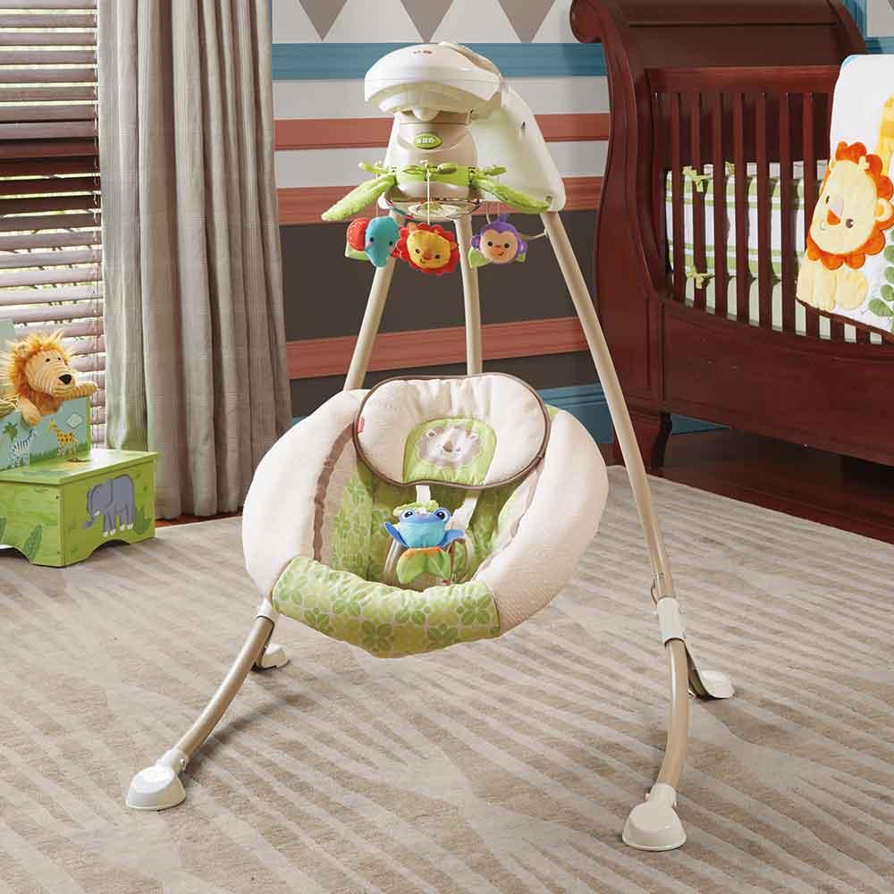 Amazon Com Fisher Price Deluxe Cradle N Swing