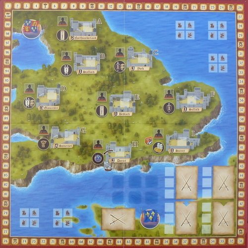 lancaster multi language board game sporting goods indoor