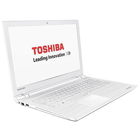 """Toshiba C55-C-12Z Ordinateur portable 15"""" Blanc (Intel Core i5, 4 Go de RAM, Disque dur 500 Go, Carte Nvidia GeForce 920M, Mise à jour Windows 10 gratuite)"""