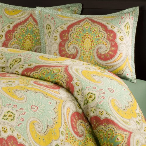 Best Deals! Echo Jaipur Full/Queen Duvet Cover