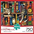 Buffalo Games Charles Wysocki Cats: Frederick The Literate Jigsaw Puzzle (750 Piece) by Buffalo Games