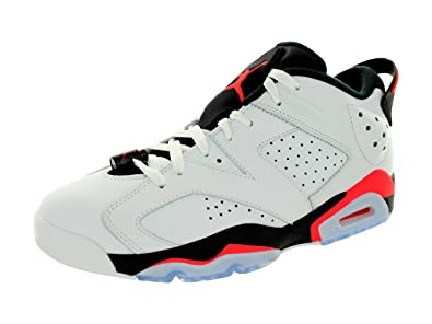 Nike Jordan Men\\u0026#39;s Air Jordan 6 Retro Low White/
