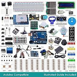 RobotLinking 2015 New Uno R3 Project Ultimate Starter Kit For Arduino UNO R3 Mega2560 Mega328 Nano including Uno R3
