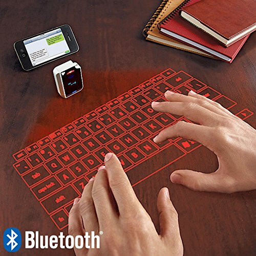 This virtual keyboard lets you type on air.