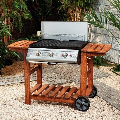 Adelaide Silverline BBQ (3 Burner Barbecue)