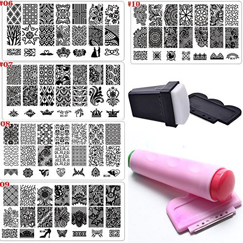 Top Best 5 nail stamping kits for sale 2016 : Product : BOOMSbeat