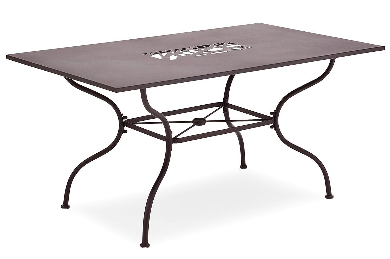Belardo ALGIRI Tisch – rechteckig, Farbe:braun günstig kaufen