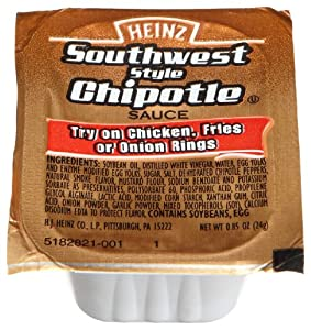 Heinz Southwest Style Chipotle Sauce 085-ounce Cups Pack Of 100 from Heinz