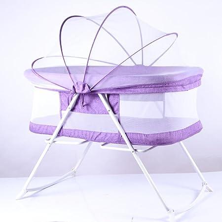 HTTMYY Bambino Multifunzionale Presepe Pieghevole Neonatale Portatile Culla Travel Bed Biancheria 92x56x66cm , 005