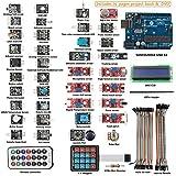 SunFounder New Uno R3 + 37 modules Arduino Sensor Starter Kit for Arduino UNO R3 Mega2560 Nano