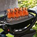 Sorbus® 12 Slot Leg & Wing Grill Rack - Steel Multi-Purpose Non-Stick Poultry Stand - For Oven, Smoker, or Grill