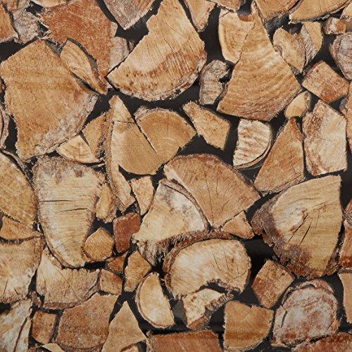 d-c-fixÃ'® Sticky Back Plastic Firewood/Logs (self adhesive vinyl film) 45cm x 2m 346-0493 by d-c-fixÃ'®