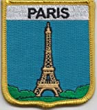 Paris Eiffel Tower France Flag Embroidered Patch Badge