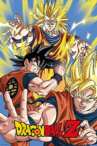 "Poster Dragon Ball Z ""Goku"" (61cm x 91,5cm)"