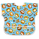 Bumkins Waterproof Junior Bib, Blue Owl
