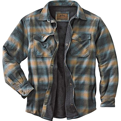 Legendary Whitetails Men's Archer Therrmal Lined Shirt Jacket Jacket Sky Large (Mens Quilted Flannel compare prices)